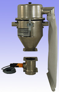 Telar Accu-Feed Hopper Mount Air Loader with filter bag